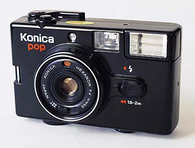 I owned various 135, 126 and 110 film cameras, including the amazing little 35mm Konica Pop